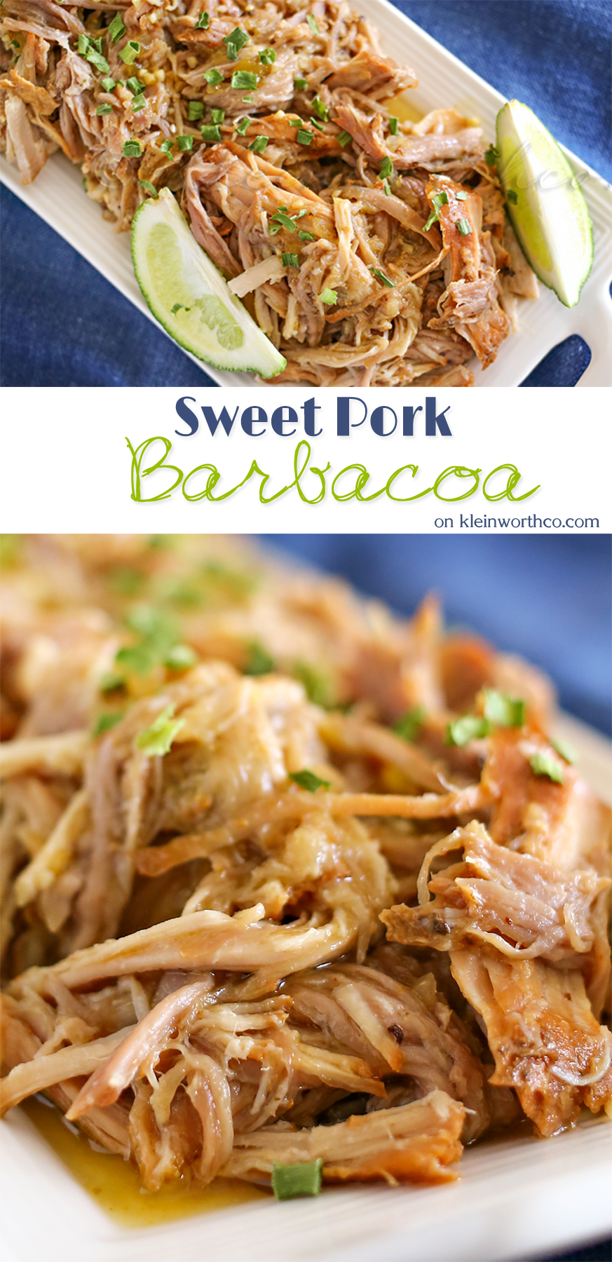 Sweet Pork Barbacoa :Easy Family Dinner Ideas