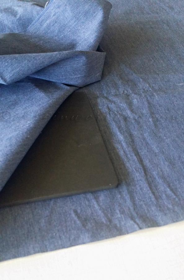 No Sew Patriotic Pillow Cover