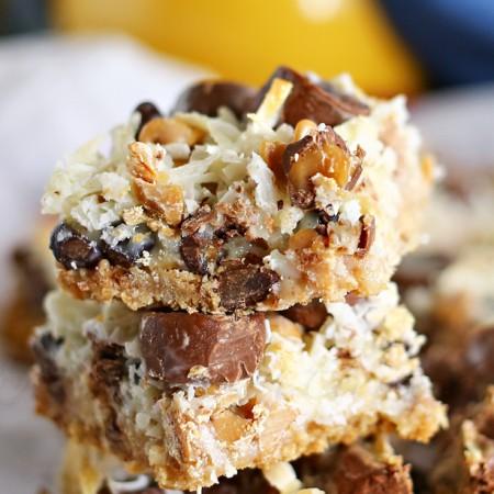 Peanut Butter Seven Layer Bars : Yummy Bar Recipes