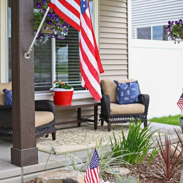 Patriotic Porch : 4th of July