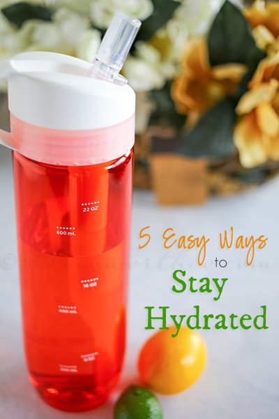 5 Easy Ways to Stay Hydrated