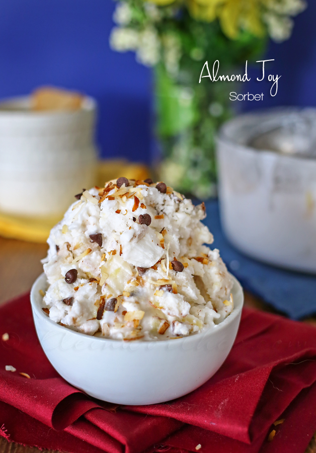 Almond Joy Sorbet