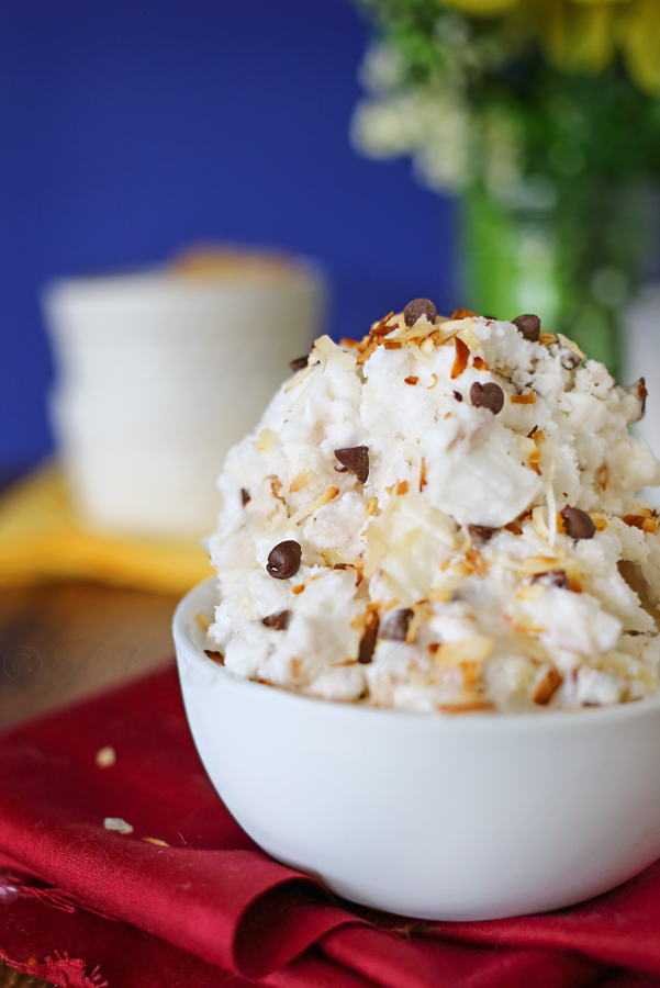 Almond Joy Sorbet Recipe... Pin it now and make it later!