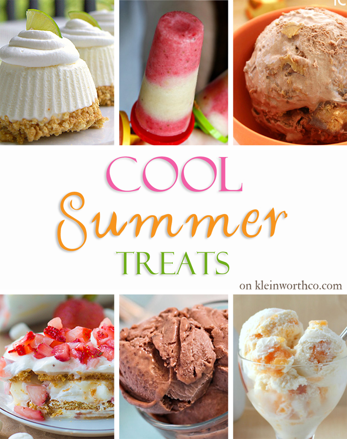 Cool Summer Treats