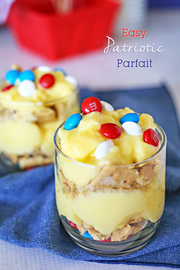 Easy Patriotic Parfait