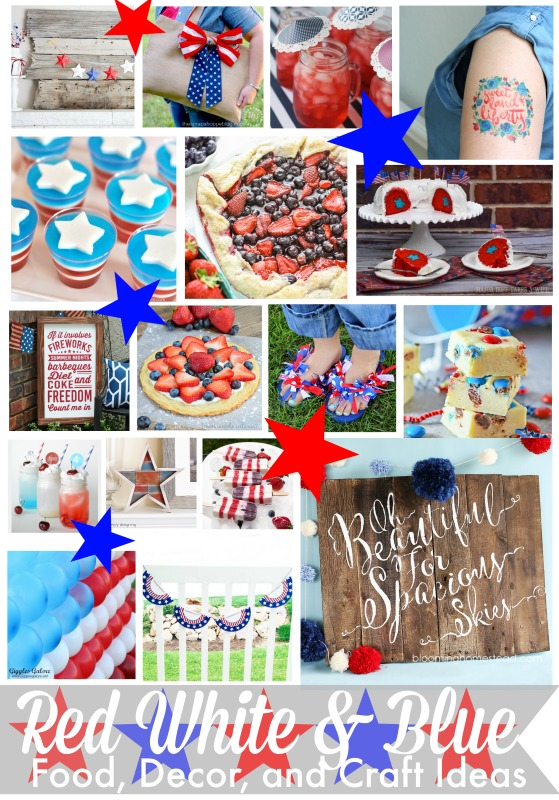 Red, White & Blue Fudge