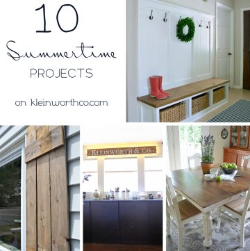 10 Summertime Projects