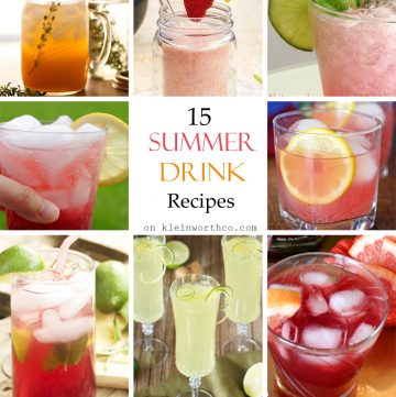 15 Summer Drink Recipes