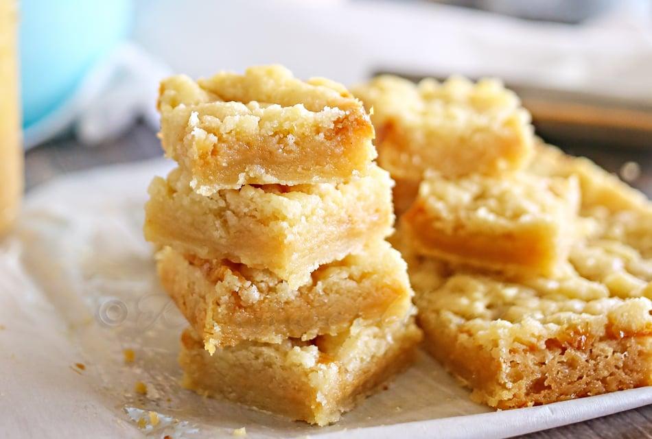 Salted Caramel Butter Bars : Yummy Bar Recipes ...