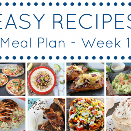 The Easy Dinner Recipes Meal Plan – Week 1