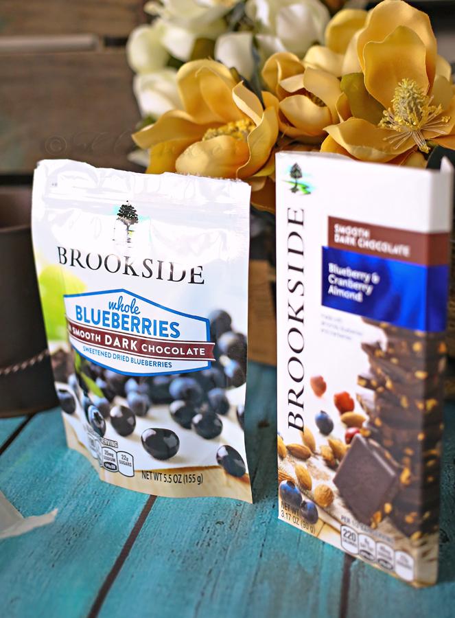 Dark Chocolate Blueberry Brownies