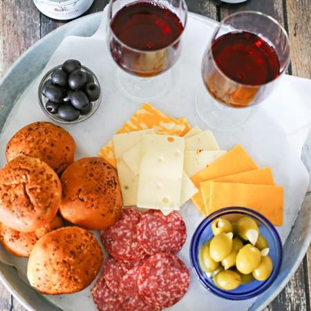 Backyard Wine Picnic : Date Night Idea