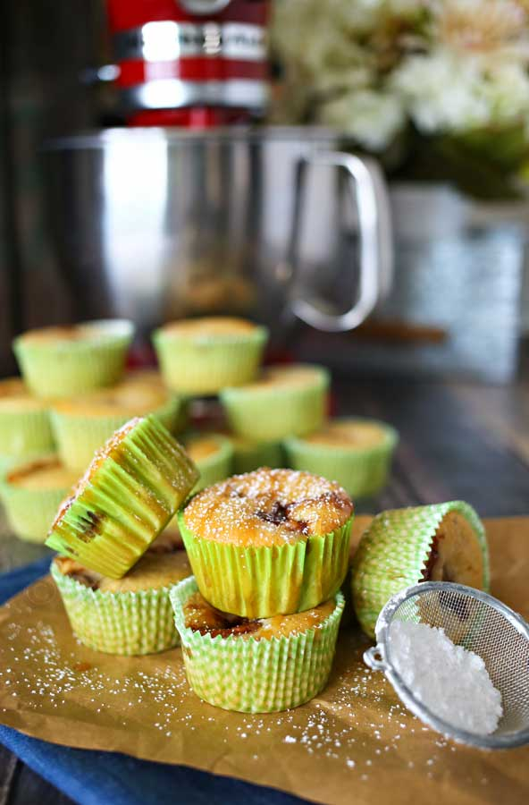Apple Fritter Cupcakes