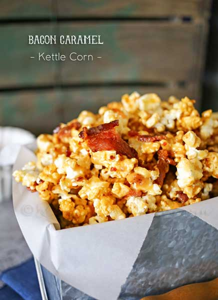 Bacon Caramel Kettle Corn