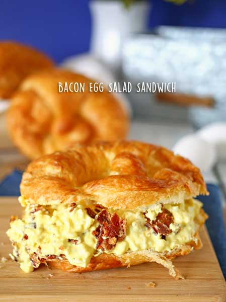 Bacon Egg Salad Sandwich