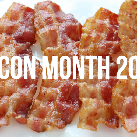 3rd Annual Bacon Month + Giveaway