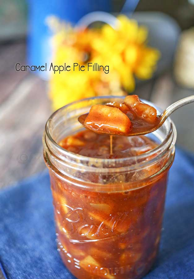 Caramel Apple Pie Filling