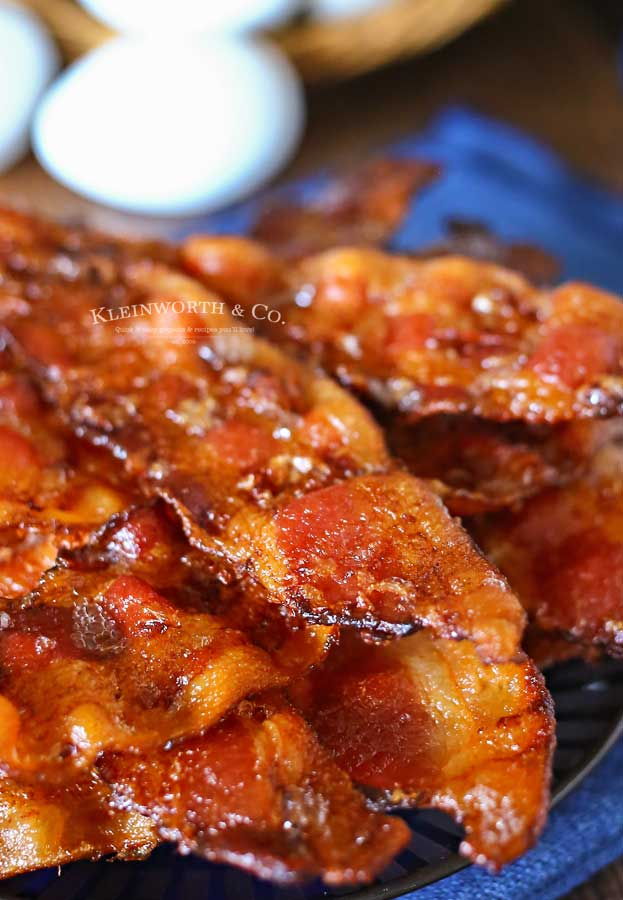 recipe for Perfect Oven Cooked Bacon