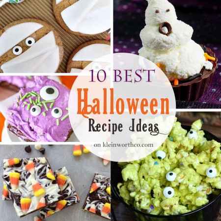10 Best Halloween Recipe Ideas