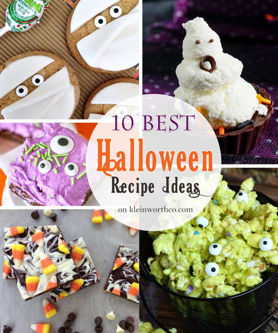 10 best halloween recipe ideas - kleinworth & co