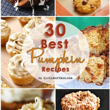 30 Best Pumpkin Recipes