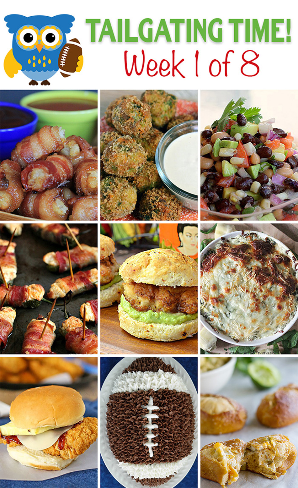 Tailgating Food Ideas Week 1 {of 8}