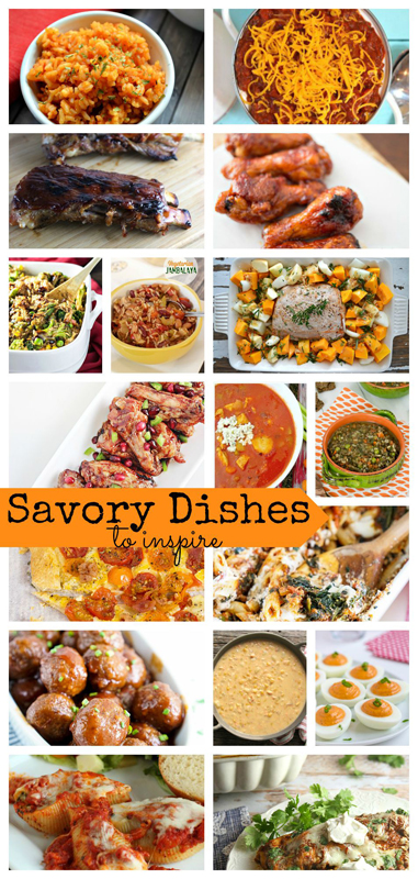 avory Dishes to Inspire from Nap-Time Creations