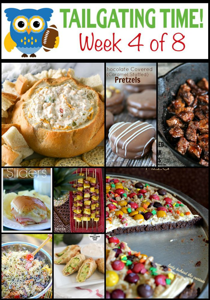 Tailgating Food Ideas Week 4 {OF 8}