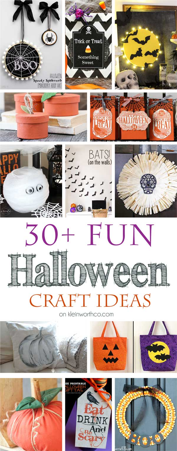 30+ Fun Halloween Craft Ideas
