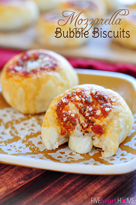 Mozzarella Bubble Biscuits