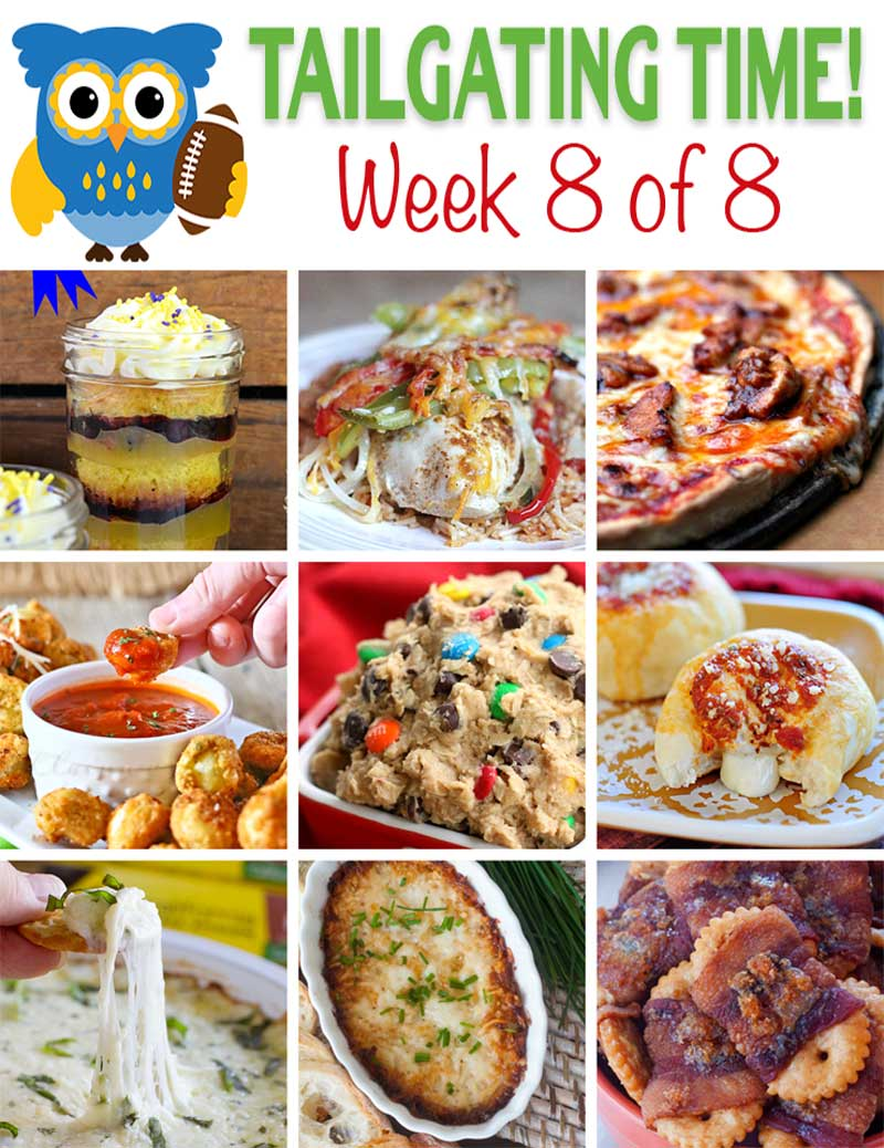 Tailgating Food Ideas Week 8 {of 8}