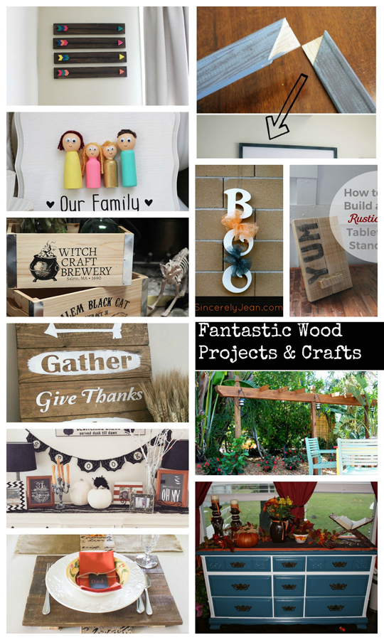 Wooden Projects for the Home