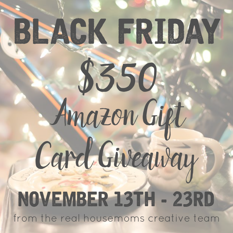 Black Friday Amazon Gift Card Giveaway