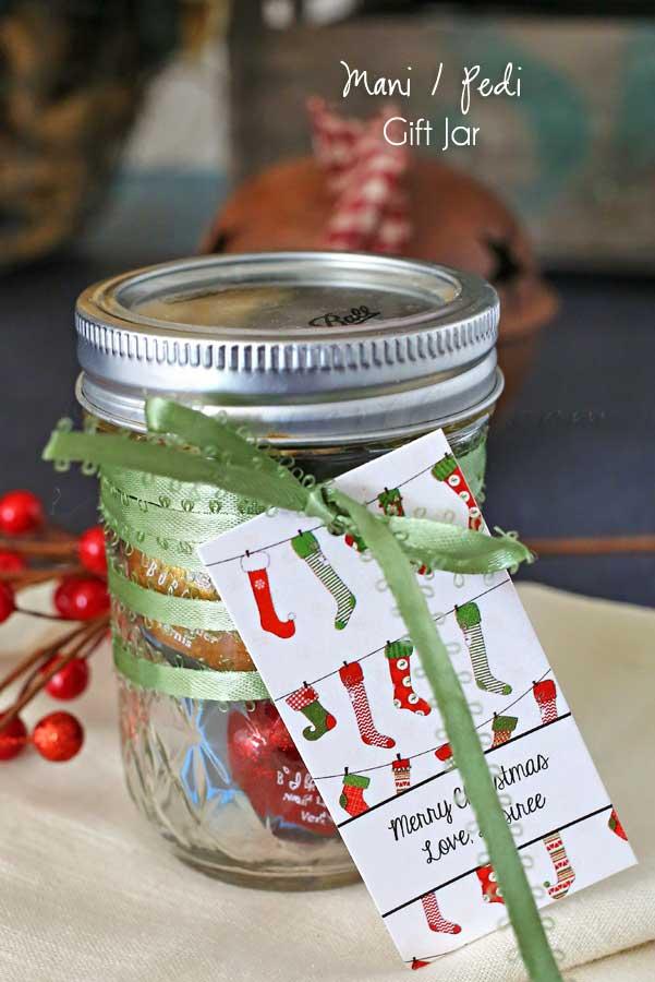 Mani-Pedi Gift Jar