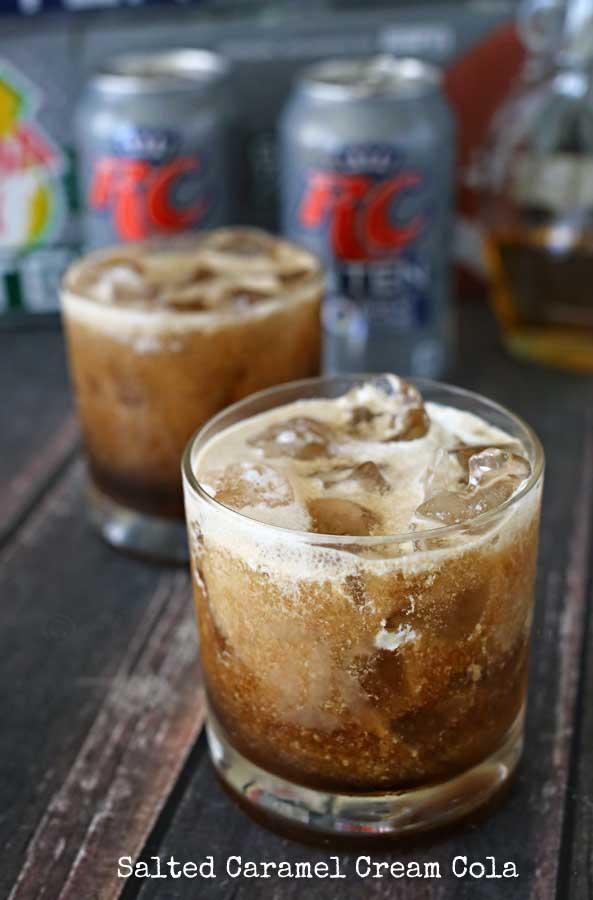 Salted Caramel Cream Cola