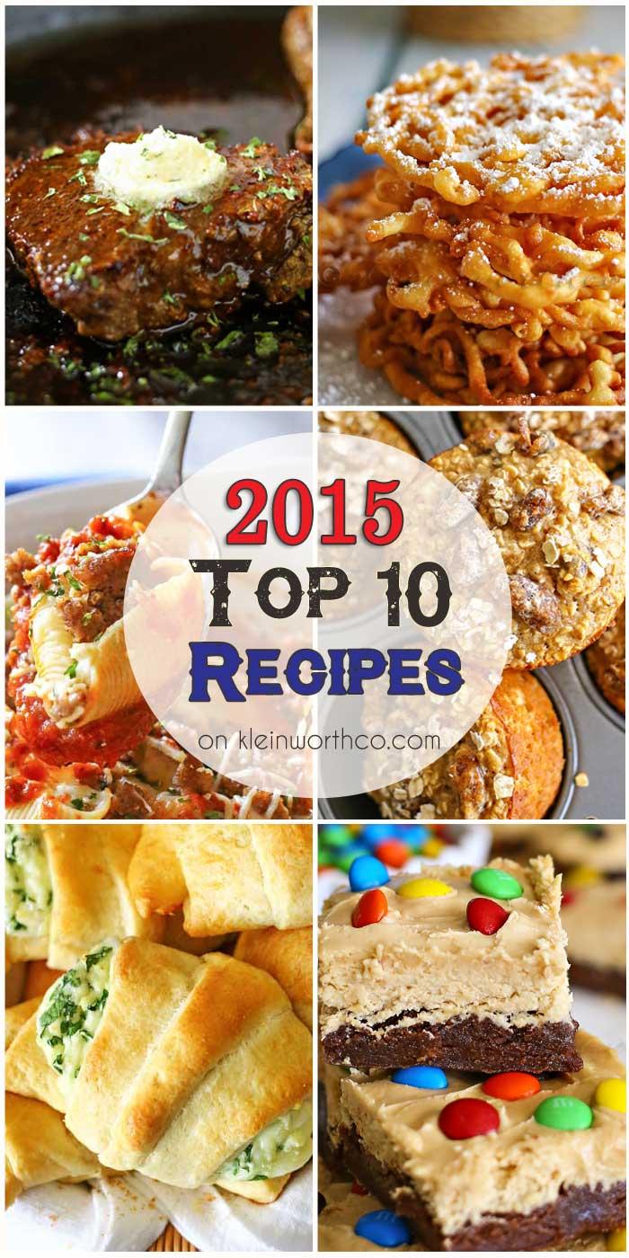 2015 Top 10 Recipes
