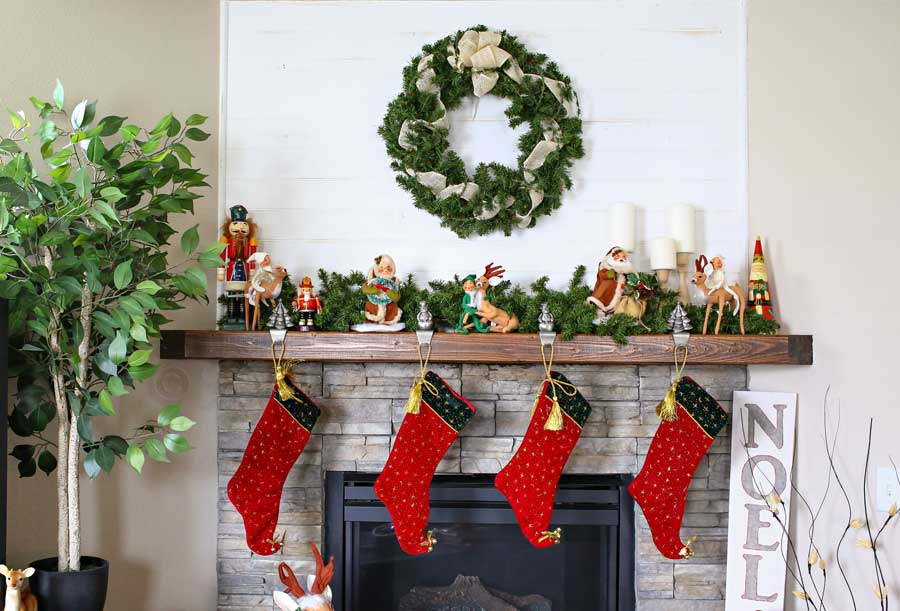 annalee christmas home tour - Annalee Christmas Decorations