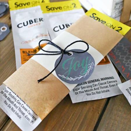 Cigar Gift Idea & Free Printable Gift Tags