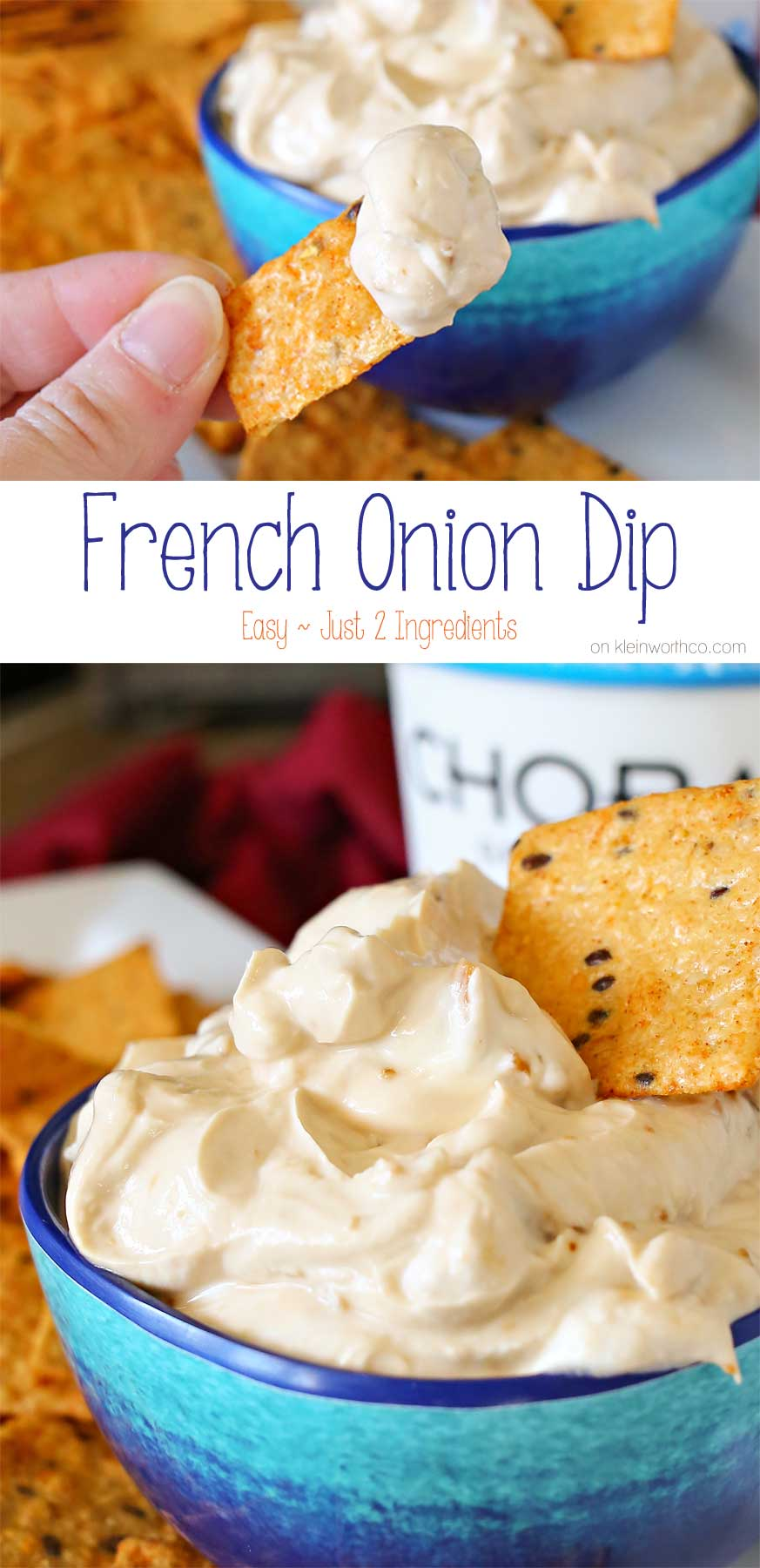 Easy French Onion Dip