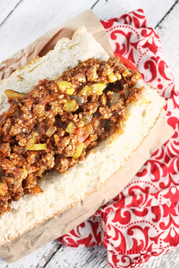 Italian Sloppy Joes from Mama Loves Food