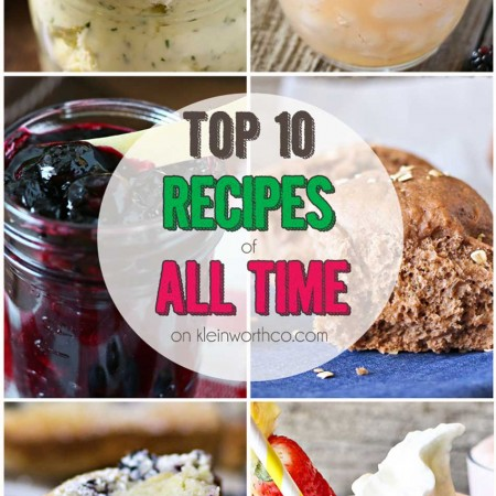 Top 10 Recipes of All Time
