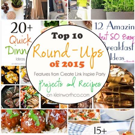 Top 10 Round Ups of 2015