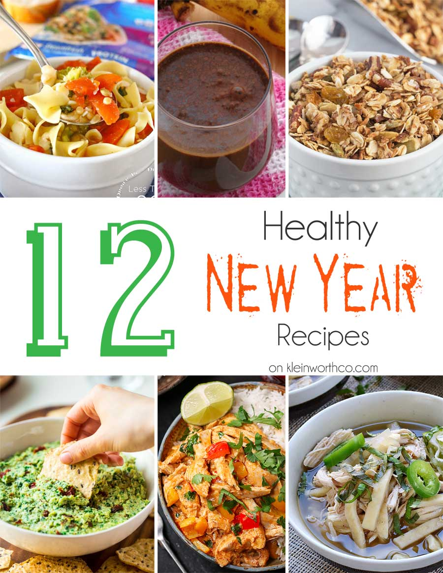12 Healthy New Year Recipes