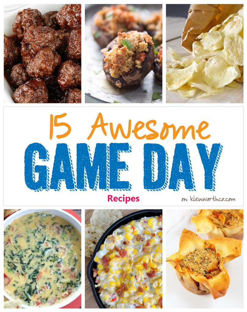 15 Awesome Game Day Recipes