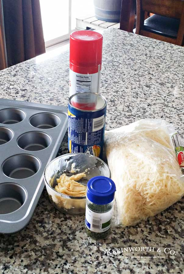 Garlic Parmesan Pull Apart Biscuits