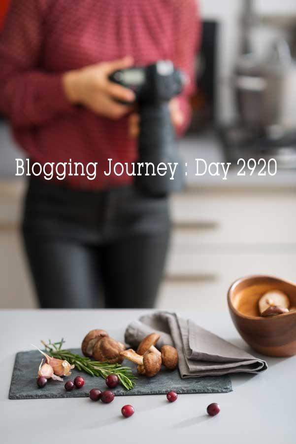 Blogging Journey: Day 2920