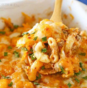 Taco Macaroni Casserole