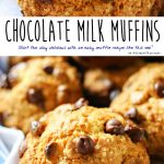Breakfast ideas just got better with this simple & tasty muffin recipe. Chocolate Milk Muffins, made with real chocolate milk. Start the day delicious with an easy muffin recipe like this one! Don't miss the tip on how to make the muffins rise with that perfect dome shape.