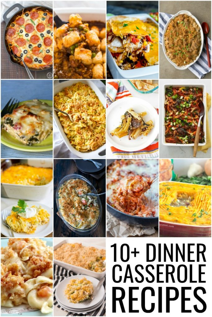 Dinner Casserole Recipes