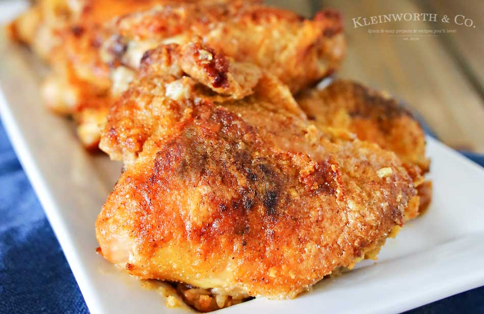 Oven Fried Chicken Kleinworth Co